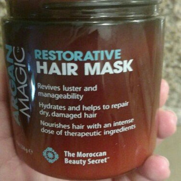 Photo of Argan Magic Restorative Hair Mask 8 Oz. Jar by Jocott Brands [1 Pack] uploaded by Madisyn J.