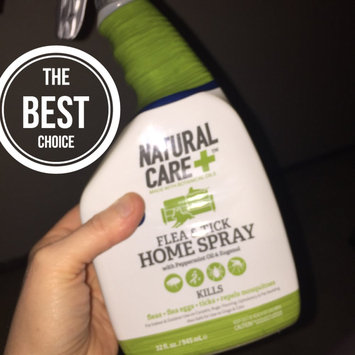Photo of Natural Care 32 oz Flea and Tick Home Spray uploaded by Emilie B.