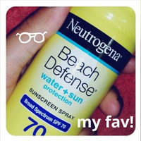 Neutrogena® Beach Defense® Water + Sun Protection Sunscreen Lotion Broad Spectrum SPF 30 uploaded by Giselle P.