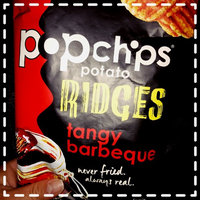 popchips Potato Ridges Tangy Barbeque Popped Chips uploaded by Grace B.