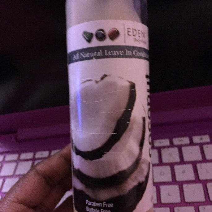 EDEN BodyWorks Coconut Shea All Natural Leave In Conditioner uploaded by Edna P.