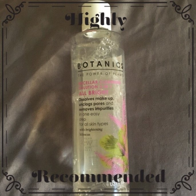 Boots Botanics All Bright Micellar 3 in 1 Cleansing Solution uploaded by Kristina A.