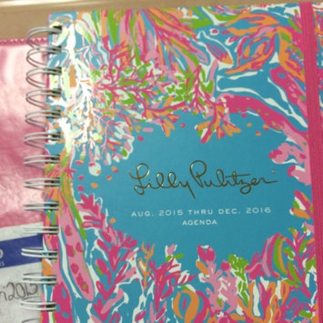 Lilly Pulitzer 17 Month Large Agenda, Scuba to Cuba [Turquoise, Pink, Blue] uploaded by Gabby B.
