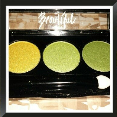 NYX Trio Eye Shadow, Spring Leaf/Lime Green/Green Tea uploaded by April B.