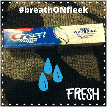 Photo of Crest Complete Extra Whitening Toothpaste with Tartar Protection uploaded by Brittany S.