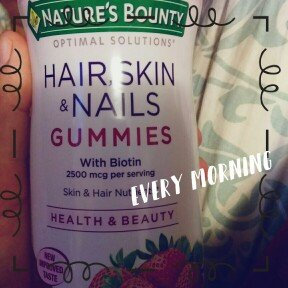 Nature's Bounty Optimal Solutions Hair, Skin & Nails Dietary Supplement Strawberry Flavored Gummies, 90 count uploaded by Karla M.