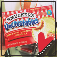 Smucker's Uncrustables Peanut Butter & Strawberry Jam Sandwich uploaded by Brooke J.