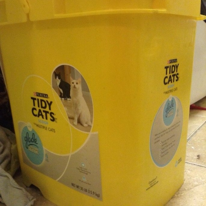 Purina Tidy Cats Tidy Cats with Glade Scoop Cat Litter Pail - 35 lb uploaded by Laurin Rae P.