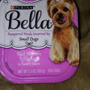 Photo of Purina Bella Filet Mignon Flavor in Savory Juices Adult Wet Dog Food 3.5 oz. Tray uploaded by Holly N.