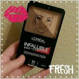 L'Oréal Paris Infallible Pro Contour Palette Light/Clair 0.24 oz. Compact uploaded by Janna V.