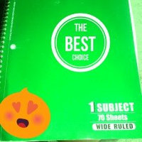 Mead Spiral Bound Notebook uploaded by Julie N.