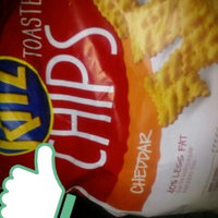 Nabisco RITZ Toasted Chips Cheddar uploaded by Rena W.