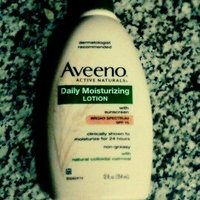 AVEENO® Daily Moisturizing Lotion with Broad Spectrum SPF 15 uploaded by Nancy O.