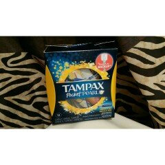 Tampax Pocket Pearl Regular Unscented Compact Tampons 18 ct Box uploaded by Kayla E.