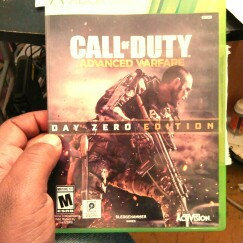 Activision Call of Duty: Advanced Warfare Day Zero Edition (Xbox 360) uploaded by derwin a.