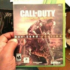 Activision Call of Duty: Advanced Warfare Day Zero Edition (Xbox 360) uploaded by derwin a.
