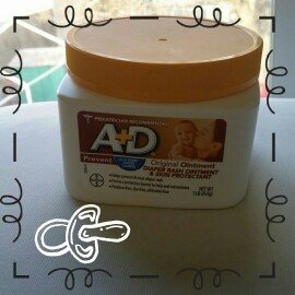 A+D® Original Diaper Rash Ointment & Skin Protectant 1 lb. Tub uploaded by Melissa Z.
