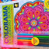 Colorama Coloring Book Flowers Paisleys Stained Glass And More Uploaded By Amanda H