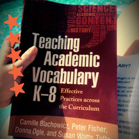 Teaching Academic Vocabulary K-8: Effective Practices across the Curriculum uploaded by Tara B.