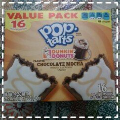 Photo of Kellogg's Pop-Tarts Dunkin' Donuts' Frosted Chocolate Mocha Toaster Pastries uploaded by Shan E.