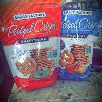 Snack Factory Deli Style Pretzel Crisps Everything Flavor uploaded by Kellee G.