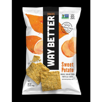 Photo of Live Better Brands, LLC. Way Better Sweet Potato Tortilla Chips 5.5 oz uploaded by Brittany R.