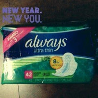 Always Ultra Thin Size 1 Regular Pads With Wings Unscented uploaded by Dawn R.