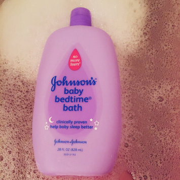 Photo of Johnson's® Bedtime Baby Bath uploaded by Abby K.