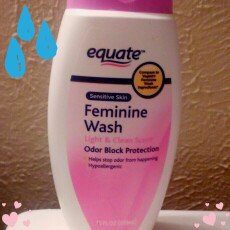 Photo of Equate Sensitive Skin Feminine Wash, 12 fl oz uploaded by Diana P.