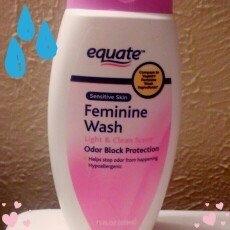 Equate Sensitive Skin Feminine Wash, 12 fl oz uploaded by Diana P.