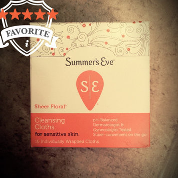 Summer's Eve Cleansing Cloths for Sensitive Skin uploaded by Nida S.