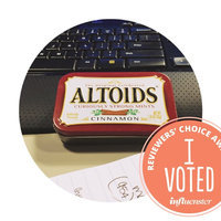 Altoids Curiously Strong Cinnamon Mints uploaded by Candace A.