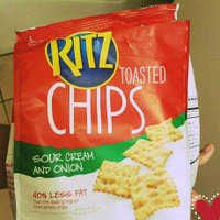 Nabisco RITZ Toasted Chips Sweet Home Sour Cream & Onion uploaded by MJ B.