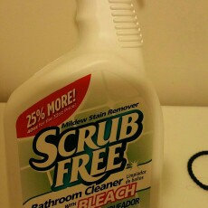 Scrub Free W/Bleach Bathroom Cleaner 40 Fl Oz Trigger Spray uploaded by Vanity K.