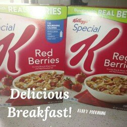 Kellogg's Special K Red Berries Cereal uploaded by Courtney M.