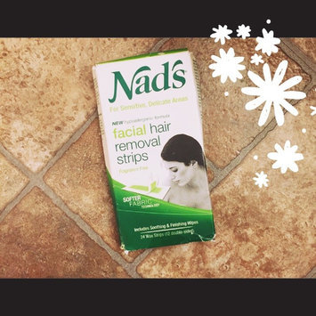Nad's Hypoallergenic Facial Wax Strips uploaded by Veronica M.
