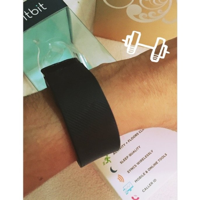 Fitbit - Charge Wireless Activity Tracker + Sleep Wristband (small) - Black uploaded by Massielle Nathalie M.