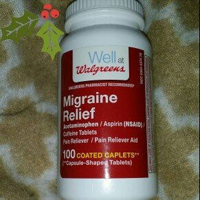 Photo of Walgreens Migraine Relief Coated Caplets, 250 ea uploaded by Mea C.