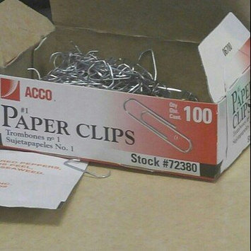 Photo of Acco Brands Acc-72380 Acco Economy Paper Clips - Standard Regular - Steel Tin - 1000 / Pack - Silver (acc72380) uploaded by Jessica A.