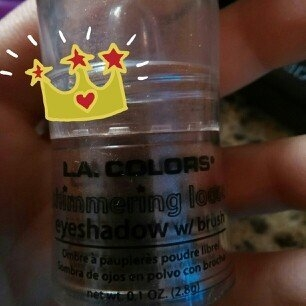 L.A. Colors Shimmering Loose Eye Shadow 111 Snow White uploaded by Mariah G.