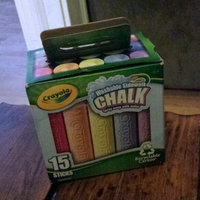 Crayola 15 Count Assorted Colors Sidewalk Chalk uploaded by Kristin H.