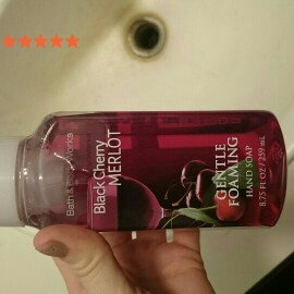 Photo of Bath & Body Works Bath and Body Works Black Cherry Merlot Gentle Foaming Hand Soap 8.75oz. Pack of 2 uploaded by Brooklyn D.