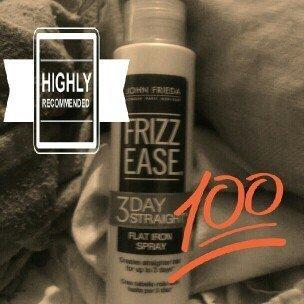 John Frieda Frizz Ease® 3-Day Straight™ Flat Iron Spray uploaded by CVT/ Ligia R.