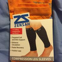 Zensah Mens Compression Arm Sleeves Large/X-Large Black uploaded by John F.