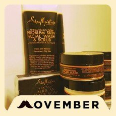 SheaMoisture African Black Soap Problem Skin Facial Wash & Scrub uploaded by Tamika G.