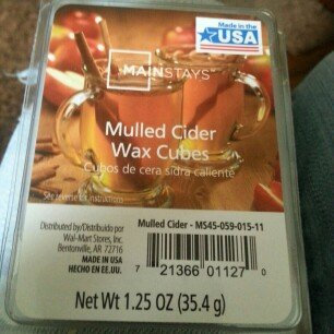 Photo of Mainstays Wax Melts, Mulled Cider uploaded by Madison L.
