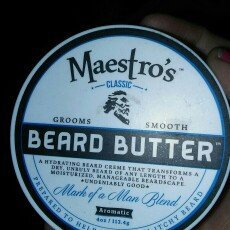 Photo of Maestro's Classic Beard Butter Mark of a Man Blend uploaded by Kianna R.