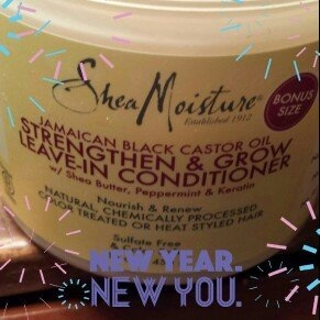 SheaMoisture Strengthen, Grow & Restore Leave-In Conditioner, Jamaican Black Castor Oil, 16 oz uploaded by Amy M.