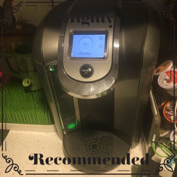 Photo of Keurig - 2.0 K550 4-cup Coffeemaker - Black/dark Gray uploaded by Stephanie S.