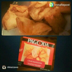 Photo of Pagoda® Crab Rangoon 4.8 oz. Box uploaded by Rikka I.